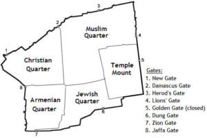 Jerusalem map