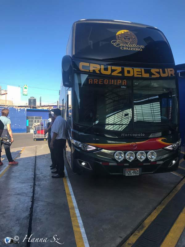 Autobus per Arequipa