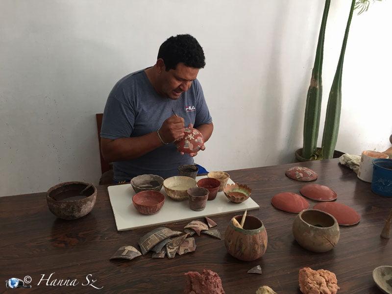 Dipingere vasi d'argilla