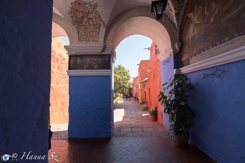 Passeggiata nel convento - Arequipa