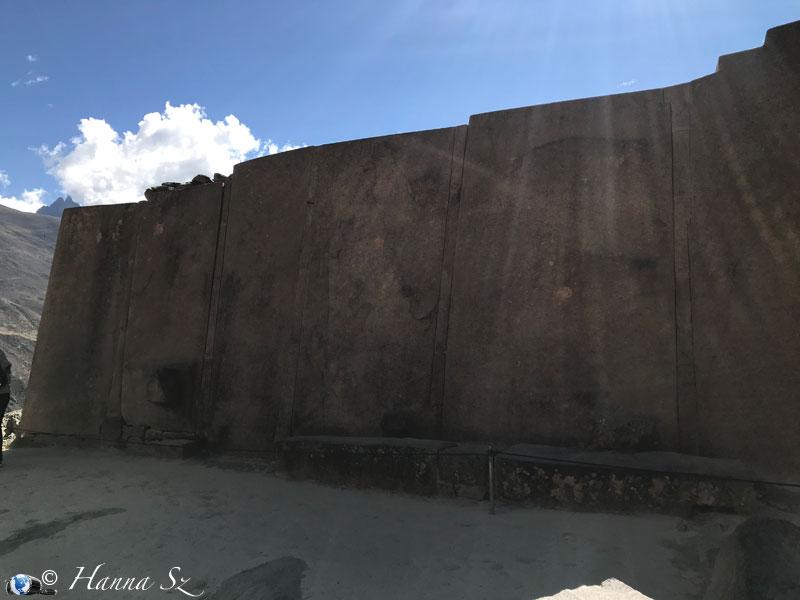 Valle Sagrado de los Inkas - Ollantaytambo - Templo del sol