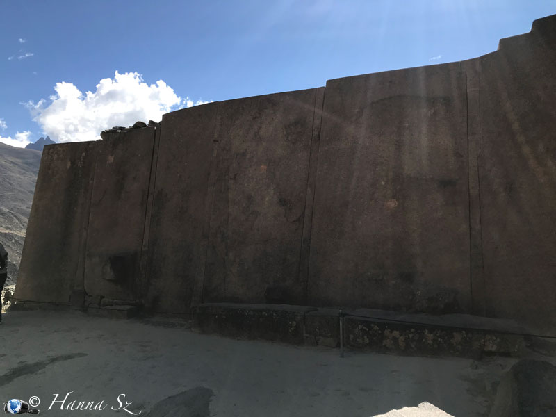 Valle Sacra degli Inkas - Ollantaytambo - Tempio in granito