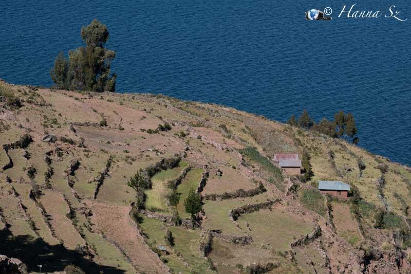 panorama lago titicaca